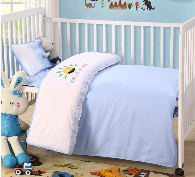 幼儿园六件套含芯被子午睡三件套婴报价