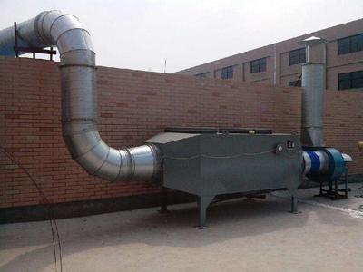 化纤印染废气处理,废气处理,新工机械(查看)