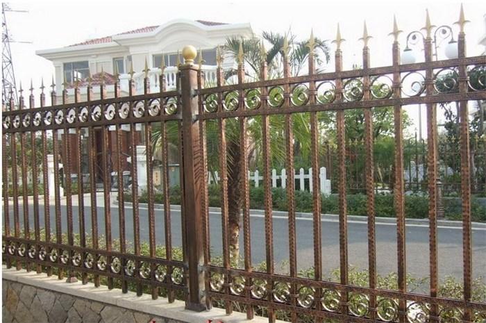 铁艺栏杆、栏杆、义万装饰
