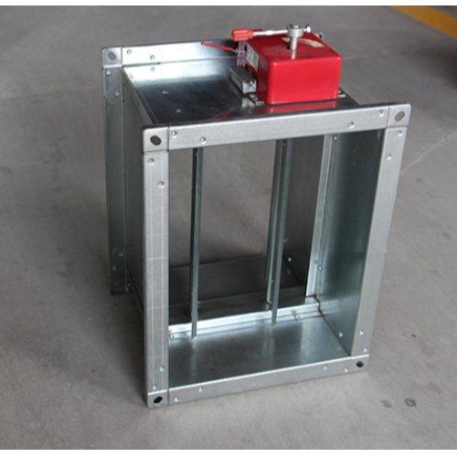 广品 不锈钢电动防火阀品牌 电动防火阀安装