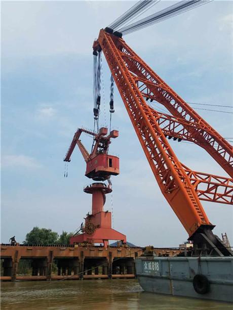 福建吊装|扬子航道工程|大型设备吊装