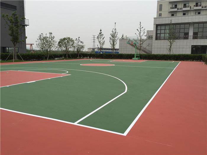 无锡塑胶篮球场施工价格报价