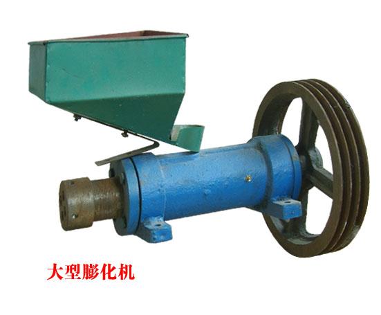 超前设备(图),全自动玉米膨化机,漯河膨化机