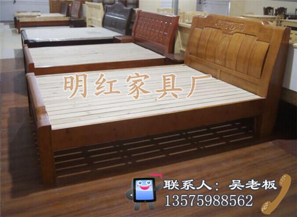山西实木床,明红家具精工细作,求购实木床