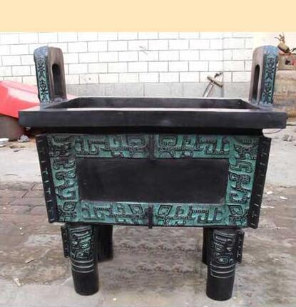 温州青铜鼎|聚玺铜工艺品|仿古青铜鼎制作