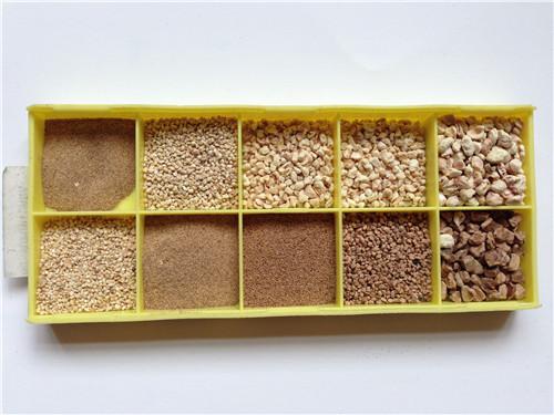玩具填充原料玉米芯、方晶磨料公司、玉米芯
