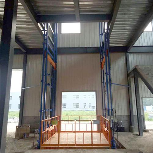 导轨式升降机,液压升降机厂家(在线咨询),升降机