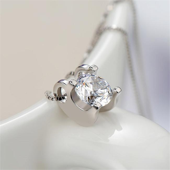 心形银项链销售