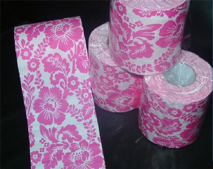 卫生纸印花定制、卫生纸、沐森纸品