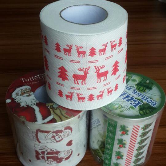 沐森万圣节印花纸巾、万圣节印花纸巾、沐森纸品