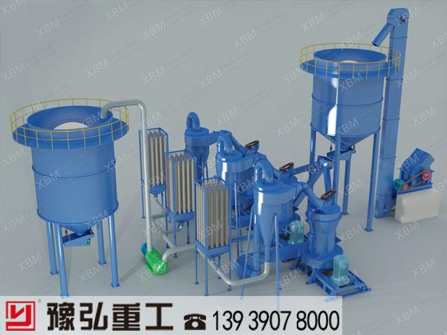 水镁石|生产工艺生产线|水镁石制粉机械