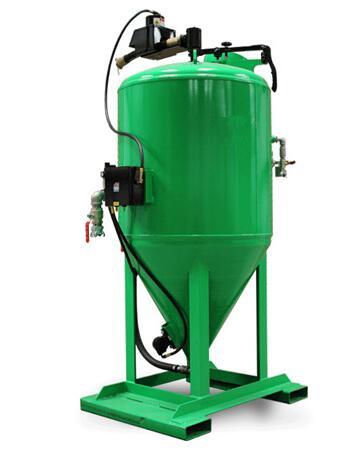 湿式环保喷砂机、青岛华川(在线咨询)、沈阳环保喷砂机