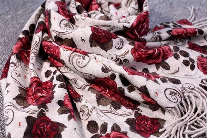 冬季羊绒围巾_羊绒围巾_赤峰暖钰羊绒(查看)