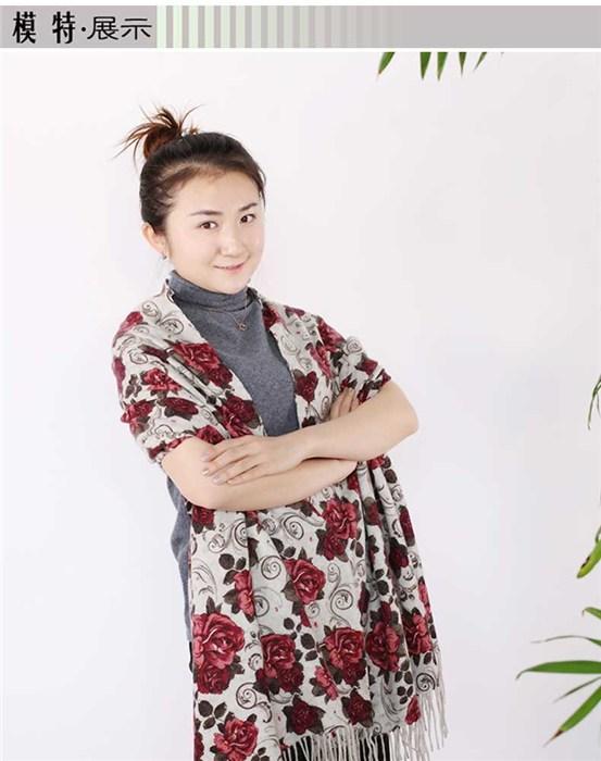 优质羊绒围巾代理、赤峰暖钰羊绒、围巾
