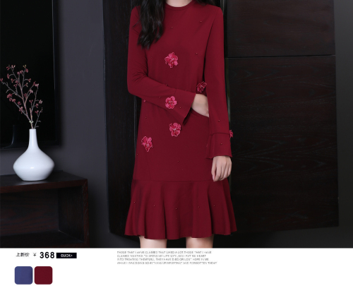 泓发服饰(图)|连衣裙的款式|惠阳区连衣裙