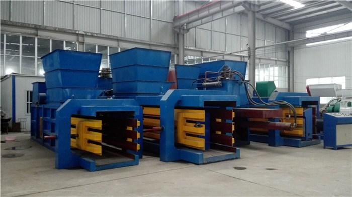 废海绵打包机多少钱-河南圣鸿机械厂家-广西海绵打包机