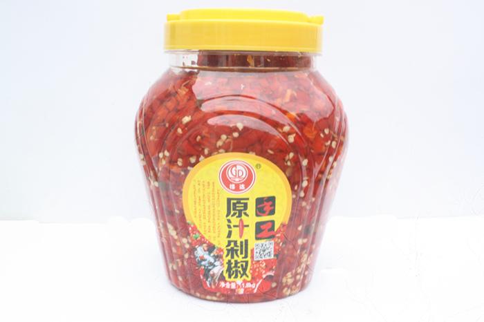 潜江辣椒酱 格达味品生产调味酱 辣椒酱产品