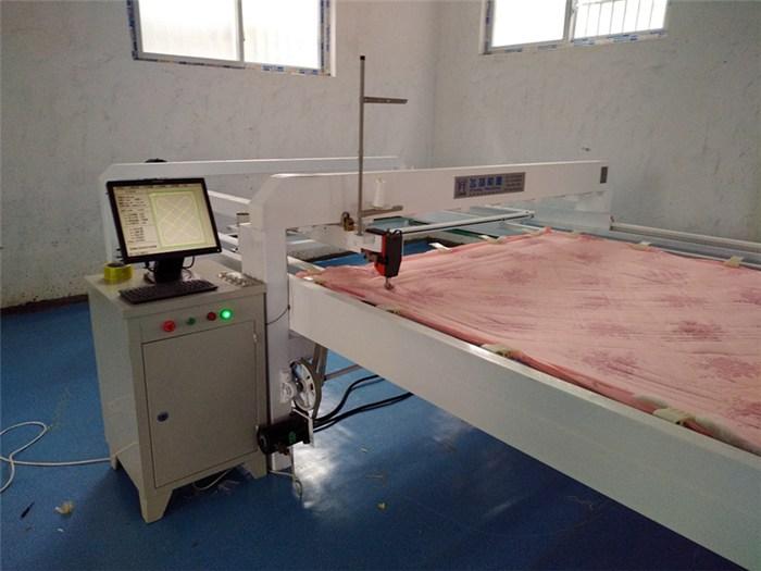 单针绗缝机制版软件、原盈机械、哈尔滨绗缝机