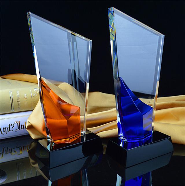 五星水晶奖杯|鸿业奖杯(在线咨询)|奖杯