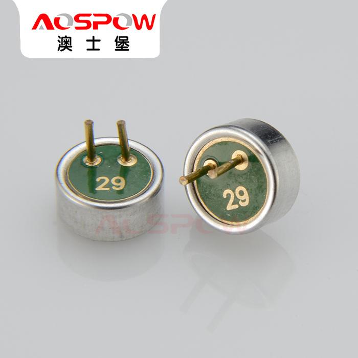 焊线咪芯 单指向咪芯定制 焊点咪芯生产 澳士堡