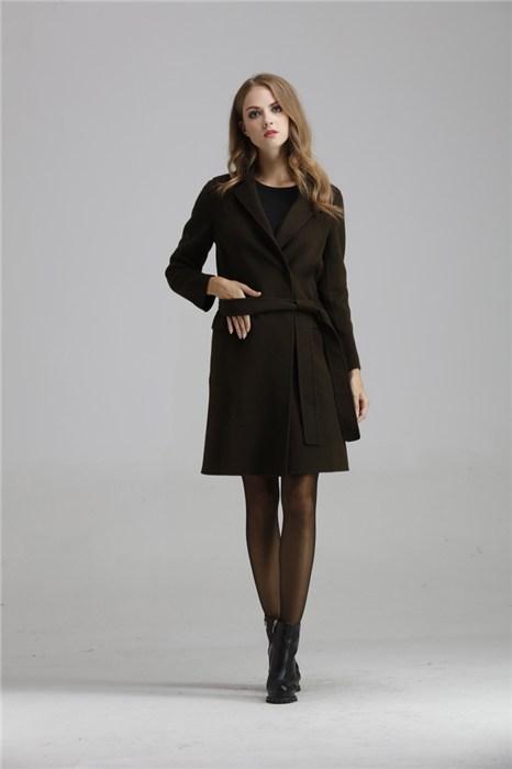 B2羊绒大衣女装库存服装批发报价