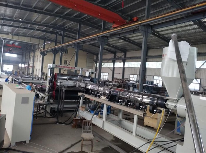 pe塑料板材设备,青岛和泰塑机(在线咨询),塑料板材设备