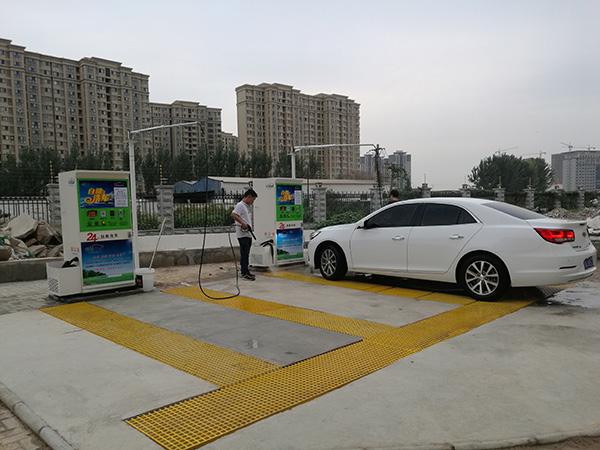 河南誉鼎 图 、焦作安装一台自助洗车机价格、自助洗车机