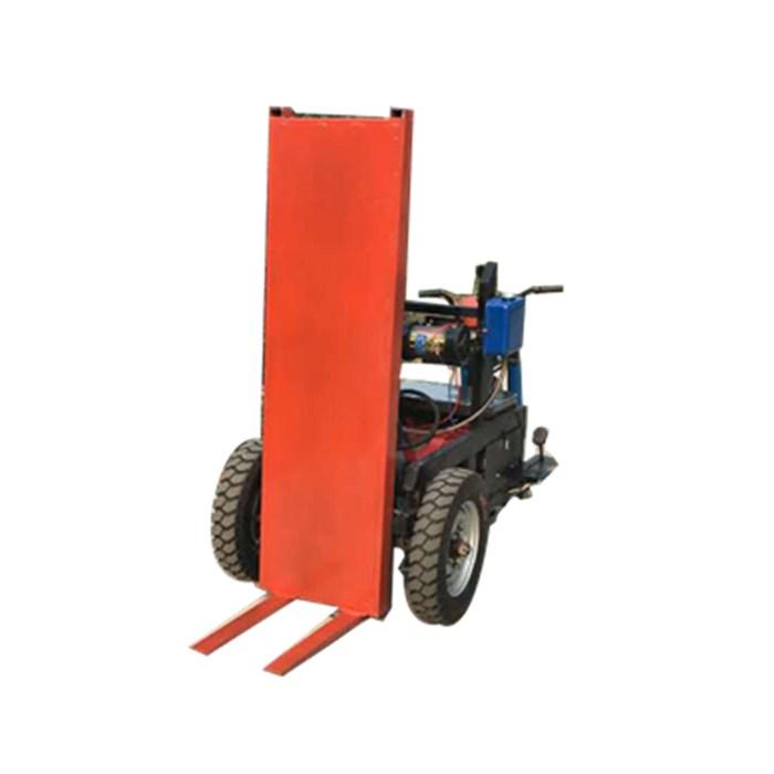 建筑工地三轮拉砖车拉多少块砖 工地三轮拉砖车好用吗 金业牌