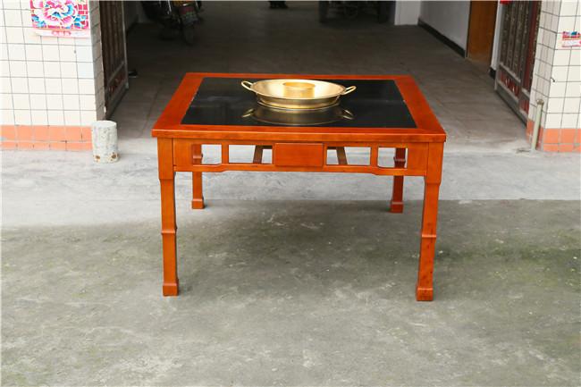 火锅桌,高雅火锅桌家具,火锅桌椅