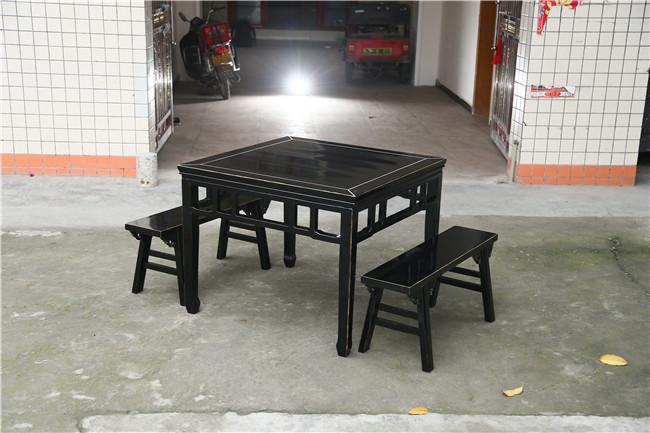 中式火锅桌,火锅桌,高雅火锅桌家具