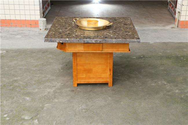 可折叠火锅桌,火锅桌,高雅火锅桌家具