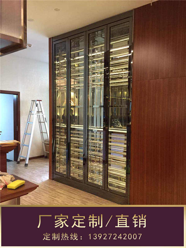 钢之源金属制品、晋城不锈钢酒柜、家用不锈钢酒柜