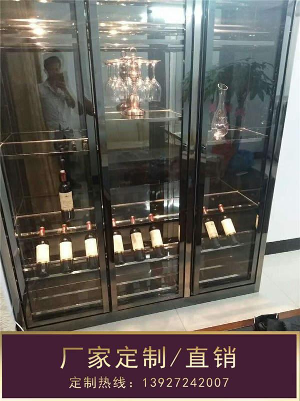 钢之源金属制品(图)、家用不锈钢酒柜、不锈钢酒柜
