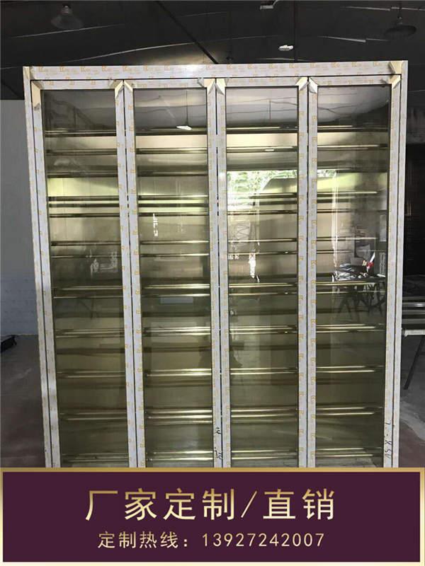 不锈钢酒柜_钢之源金属制品_家用不锈钢酒柜