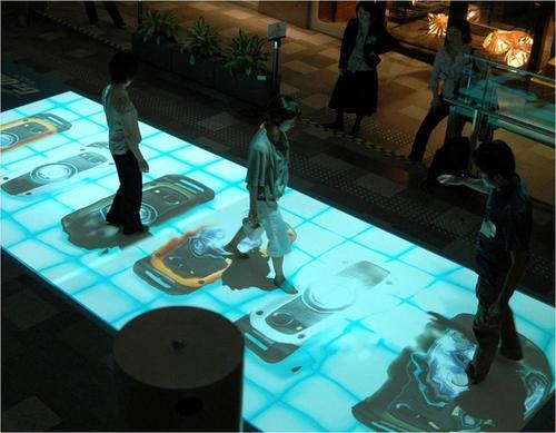 手机多屏互动厂家直销-手机多屏互动-鑫彩互动投影生产