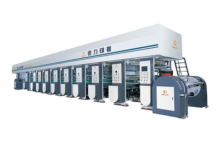 纸张印刷机_德力印刷机械