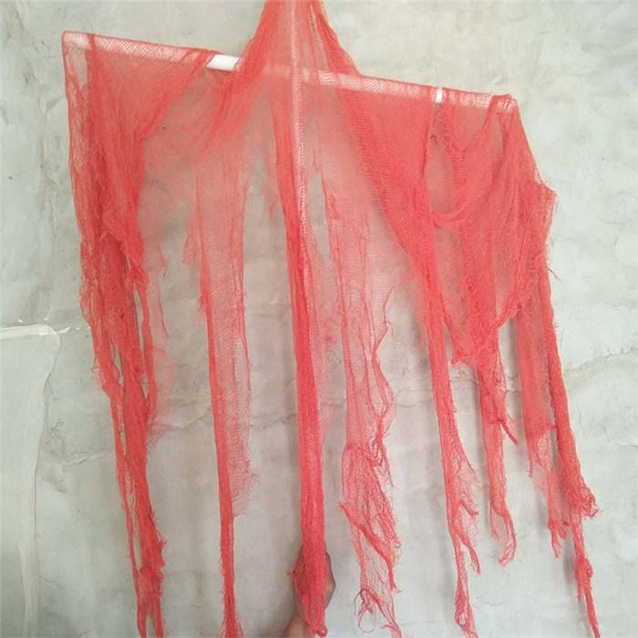 澳门万圣节纱布|天梭纺织品|万圣节纱布鬼节装饰纱布