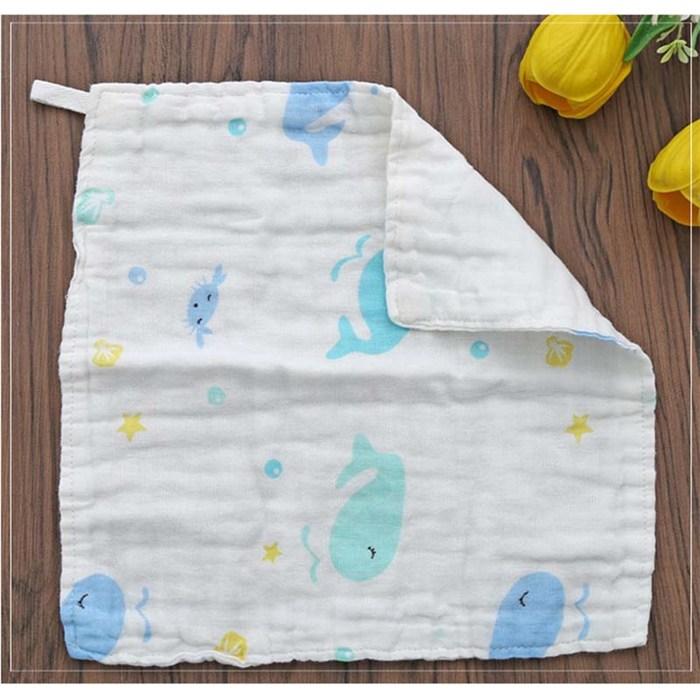 双层纱布口水巾、西藏口水巾、天梭纺织品