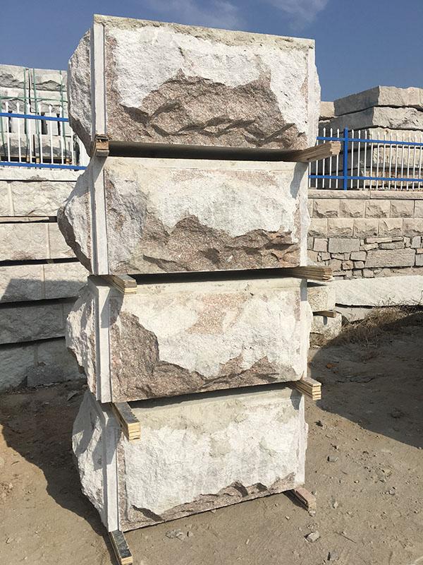 蘑菇石_嘉磊石材_五莲红蘑菇石的尺寸
