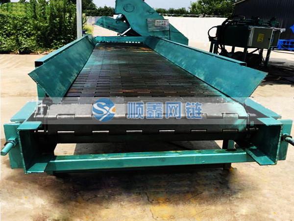 宁津顺鑫、组装线链板输送机、组装线链板输送机订做