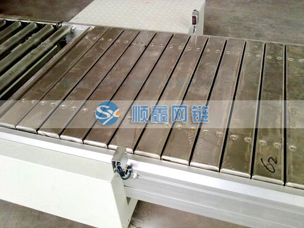组装线链板输送机、空调组装线链板输送机、宁津顺鑫