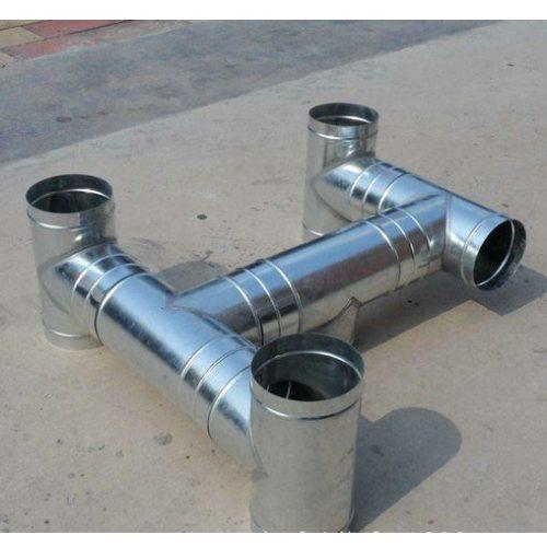 白铁皮加工风管定制 杭州迈起 镀锌白铁皮加工风管报价