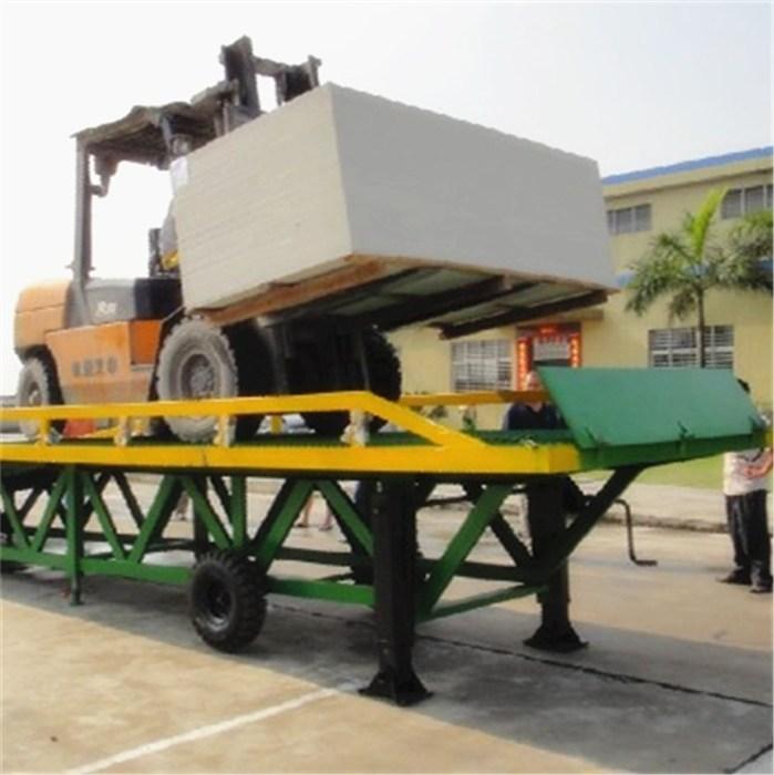 移動式登車橋技术参数|北工机械液压式|九江移動式登車橋