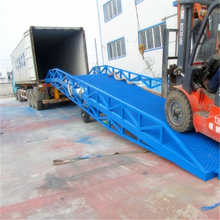杭州移動式登車橋,北工機械廠家直銷,移動式登車橋支腿型