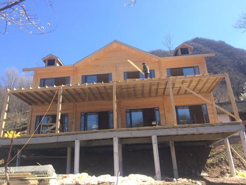 木质结构房屋图片/木质结构房屋样板图 (1)