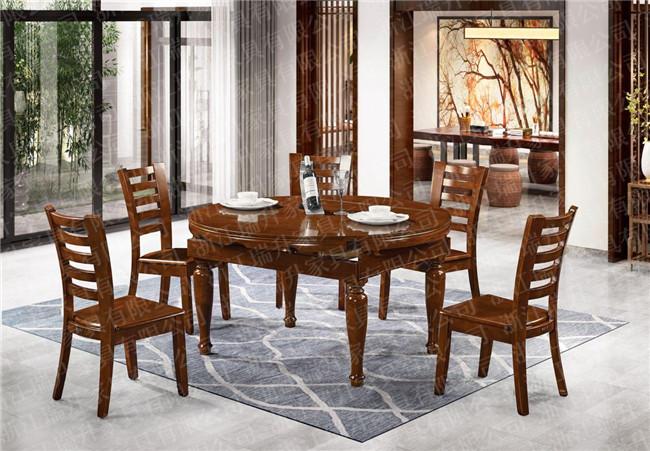 美式实木餐桌椅价格、浙江瑞升家具有限公司、实木餐桌椅