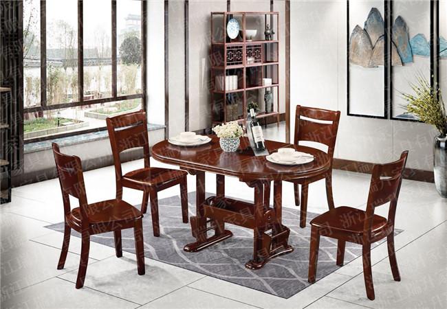 实木餐桌椅生产厂家_实木餐桌椅_浙江瑞升家具有限公司(查看)