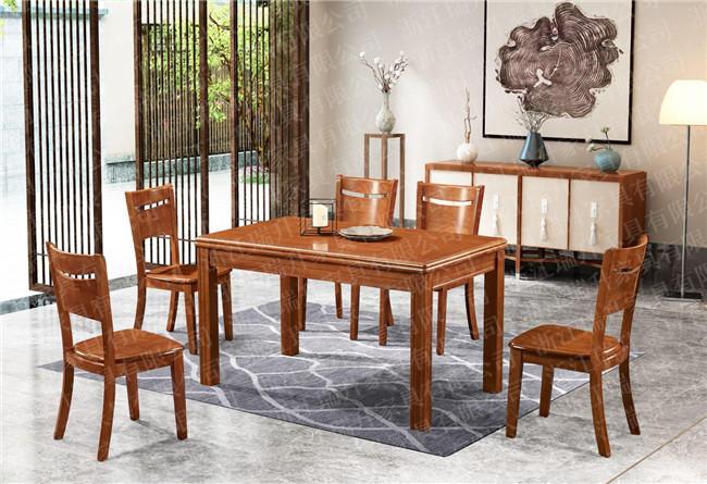 实木餐桌椅、浙江瑞升家有限公司具、中式实木餐桌椅报价