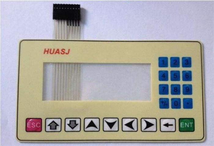 销售薄膜按键标贴 铝标牌薄膜开关报价