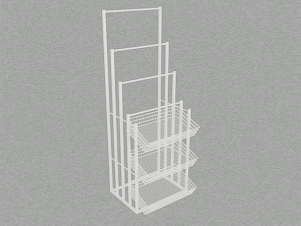 商超货架图片/商超货架样板图 (1)